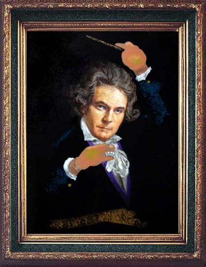 Ludwig van Beethoven by originaldo